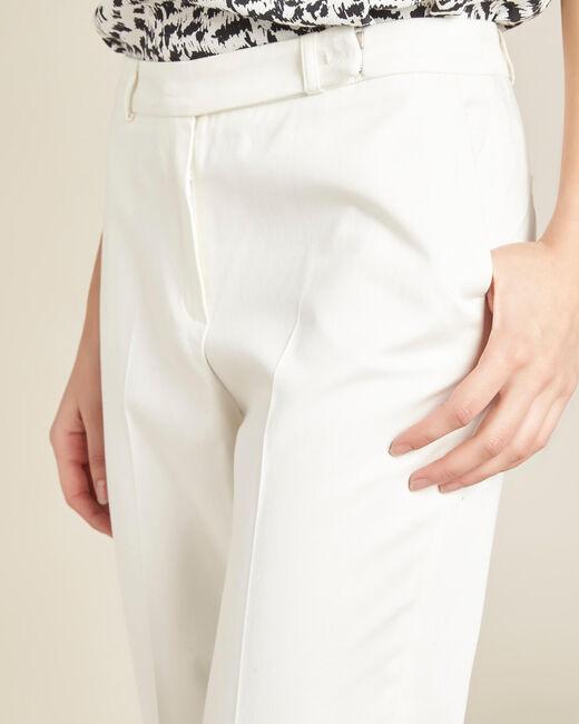 Pantalon écru 7/8ème Rubis (2) - 1-2-3