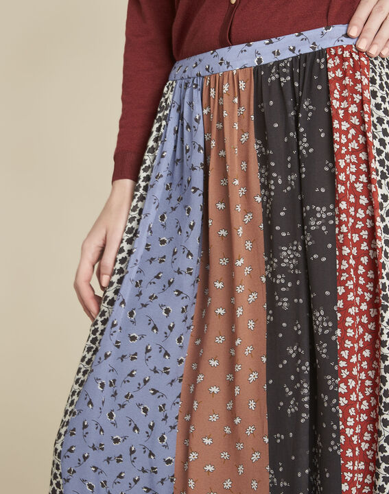 Arielle long floral printed skirt (3) - 1-2-3