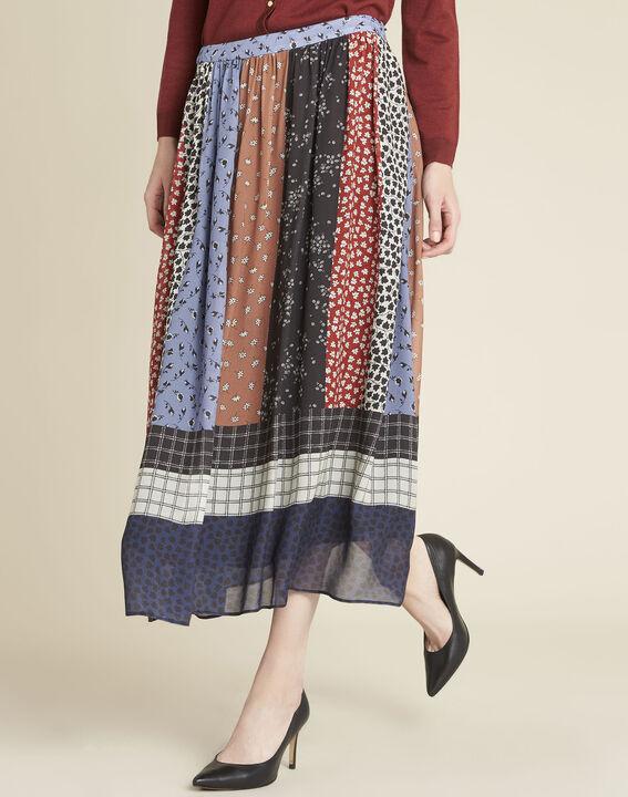 Arielle long floral printed skirt (1) - 1-2-3