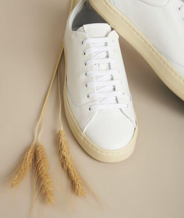 Witte leren sneakers Gravière PhotoZ | 1-2-3