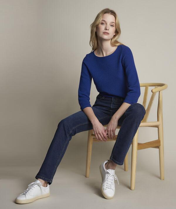 L'original 123: jean droit brut Sonia PhotoZ | 1-2-3