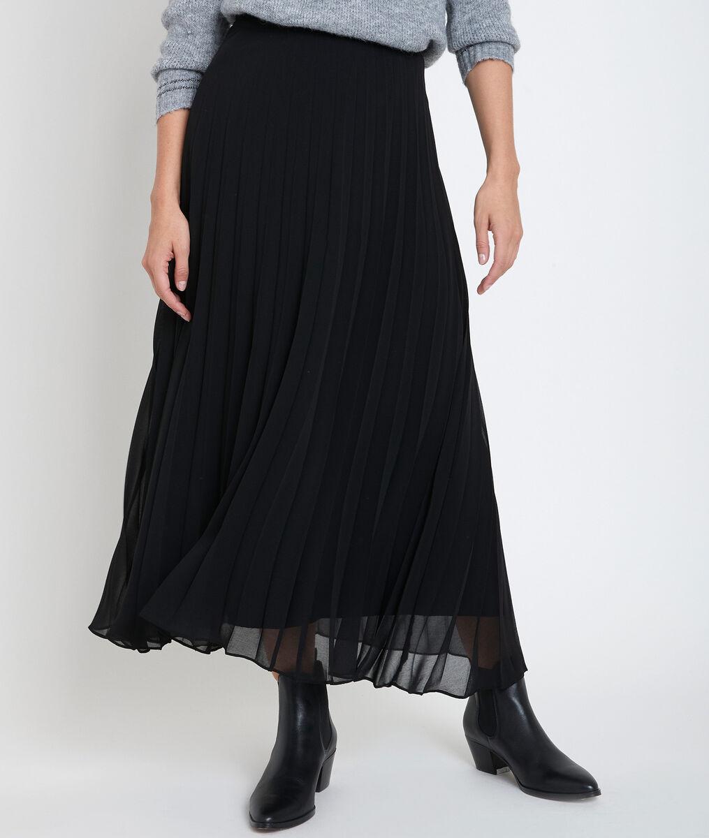 Jupe plissée noire Greta PhotoZ | 1-2-3