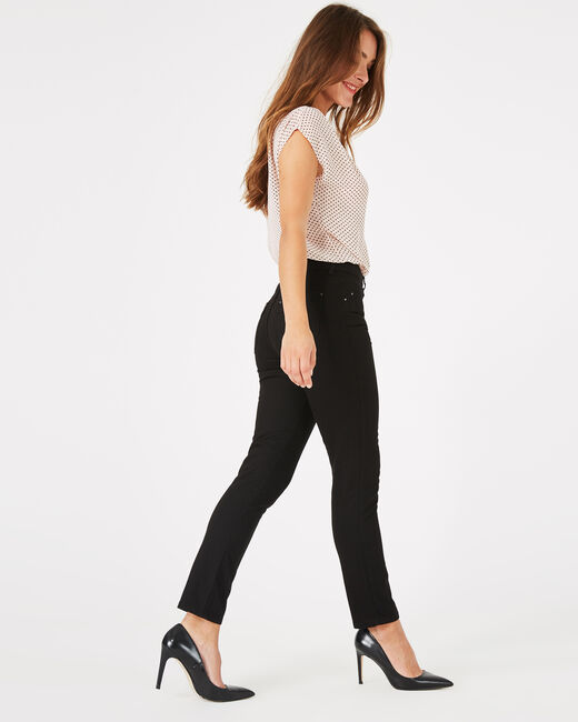 Oliver 7/8th length black jeans (1) - 1-2-3