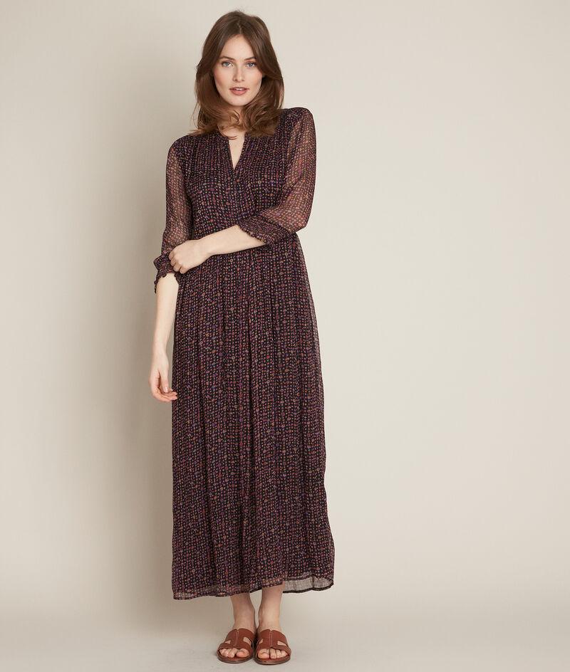 Robe longue imprimé fleuri Libra PhotoZ | 1-2-3