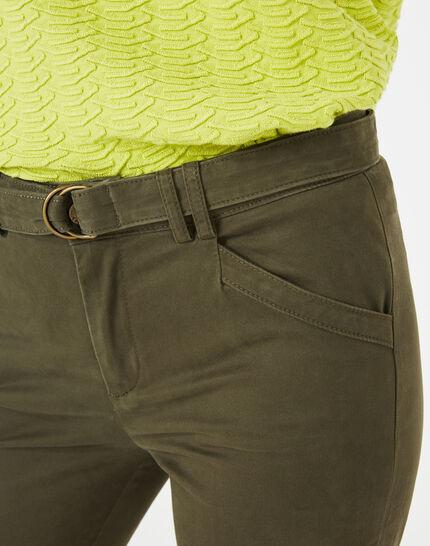 Pantalon kaki 7/8ème Kloe (3) - 1-2-3