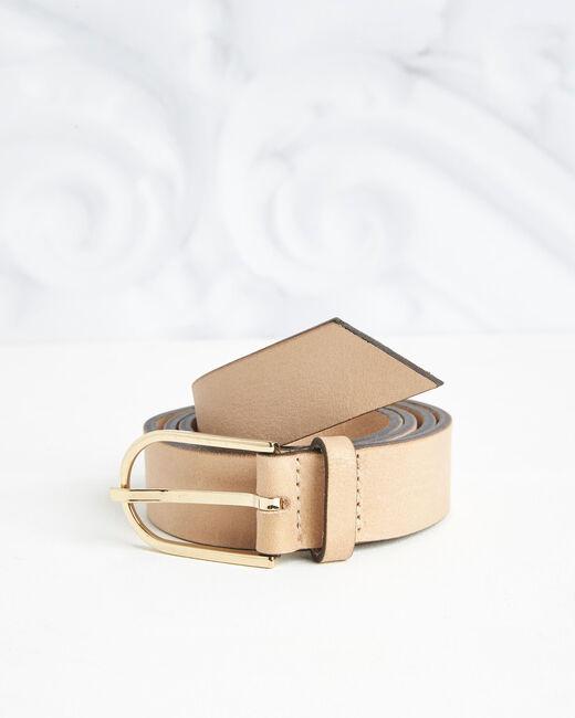 Renata beige leather belt (1) - 1-2-3