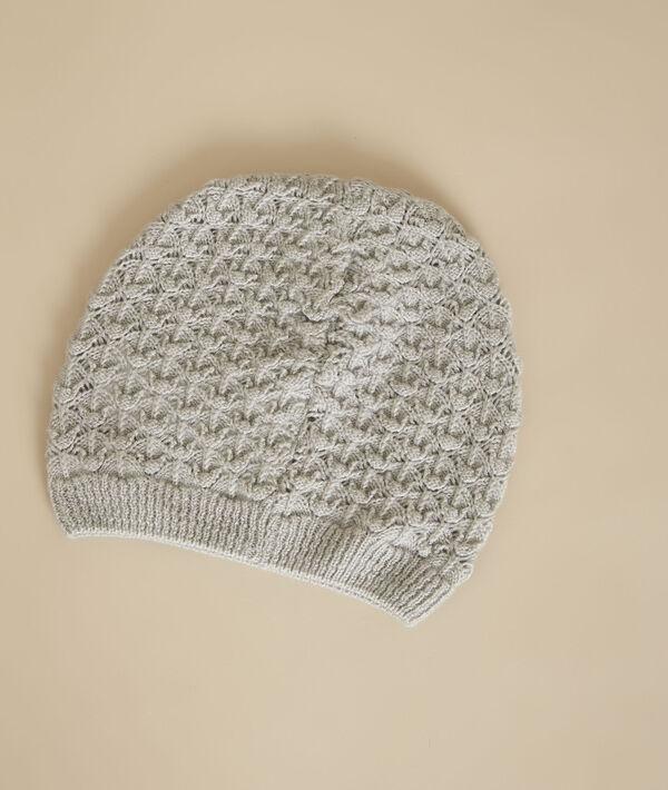 Bonnet gris chiné en laine Galdric PhotoZ | 1-2-3
