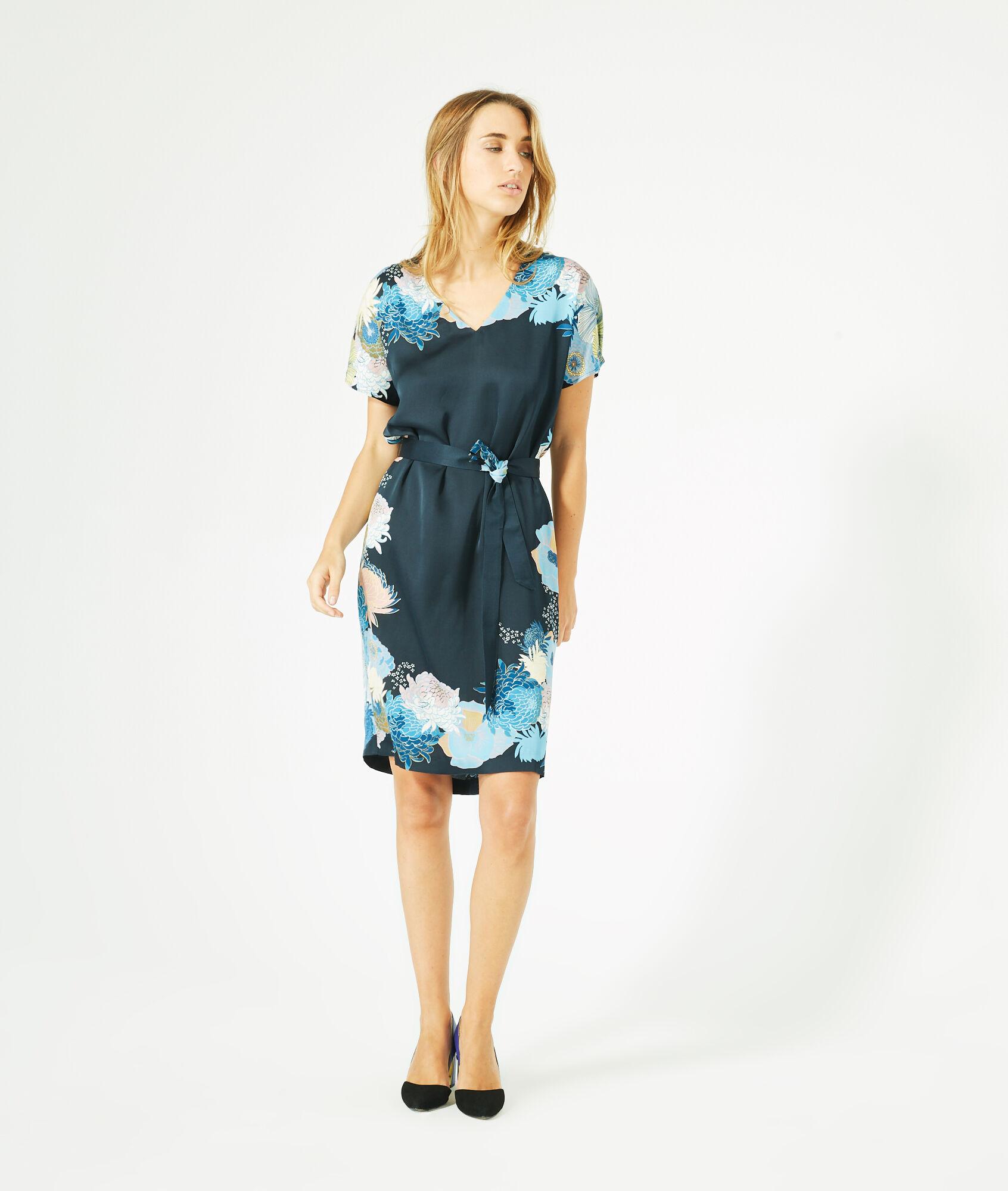 Robe bleu marine 1 2 3