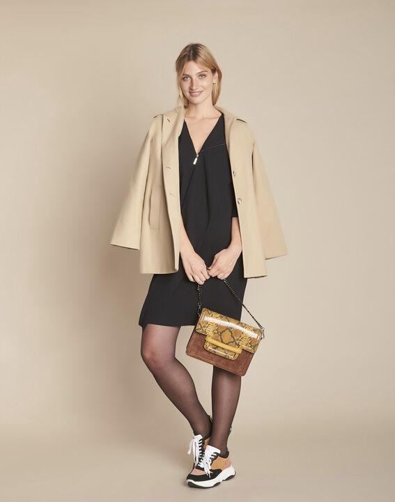 Robe noire à zip Irene PhotoZ | 1-2-3