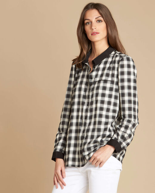 Dominique check shirt (2) - 1-2-3