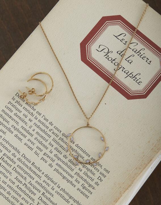 Boucles d'oreilles dorées fantaisie Tessa PhotoZ | 1-2-3