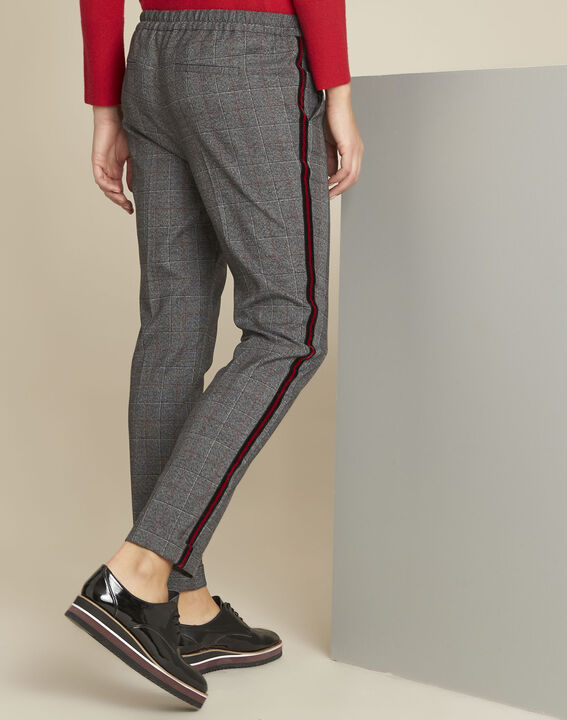 Volt grey checked trousers (4) - 1-2-3