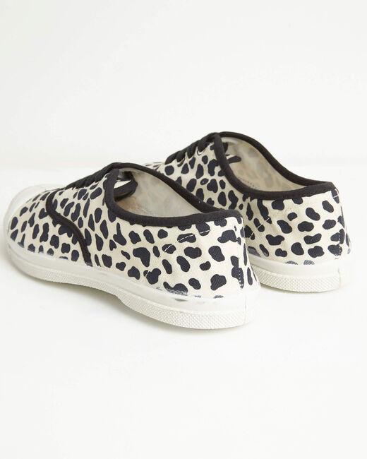 Kassandre cotton leopard print trainers (2) - 1-2-3