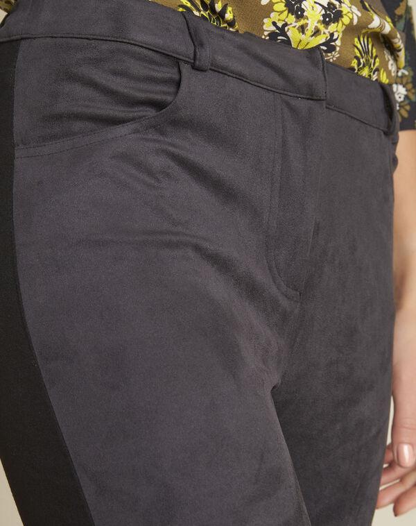 Pantalon noir slim Handy (2) - 1-2-3