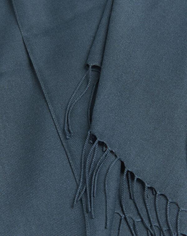 Fossette fringed dark green scarf (1) - 1-2-3