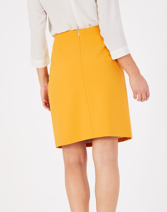 Fantastic pink straight-cut tailored skirt (4) - 1-2-3
