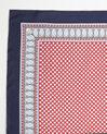 Ashton graphic printed square scarf in silk (1) - 1-2-3