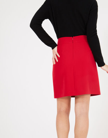 Fama red skirt with studs (3) - 1-2-3
