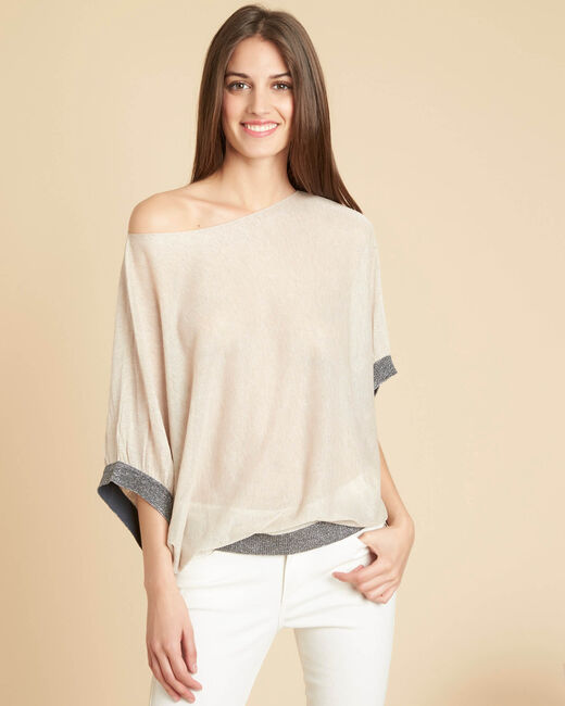 Niagara bat-wing sweater in gold (2) - 1-2-3