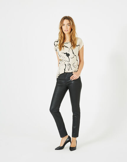 William coated slim-cut black trousers (2) - 1-2-3