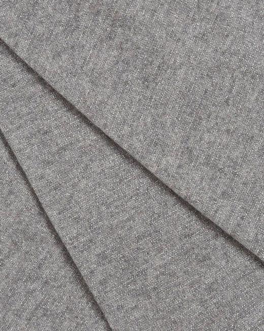 Echarpe gris chiné en cachemire Tournesol (1) - 1-2-3