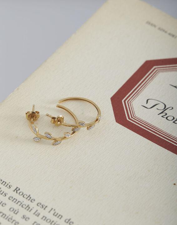 Boucles d'oreilles dorées fantaisie Tessa (1) - Maison 123