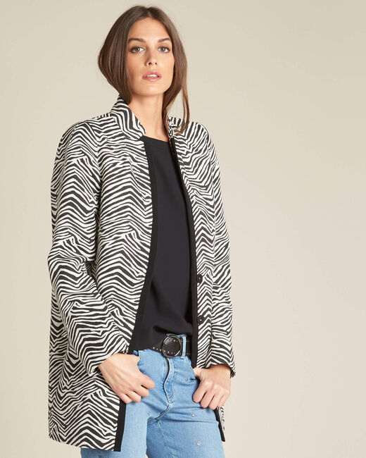 Klarisse animal print coat (2) - 1-2-3