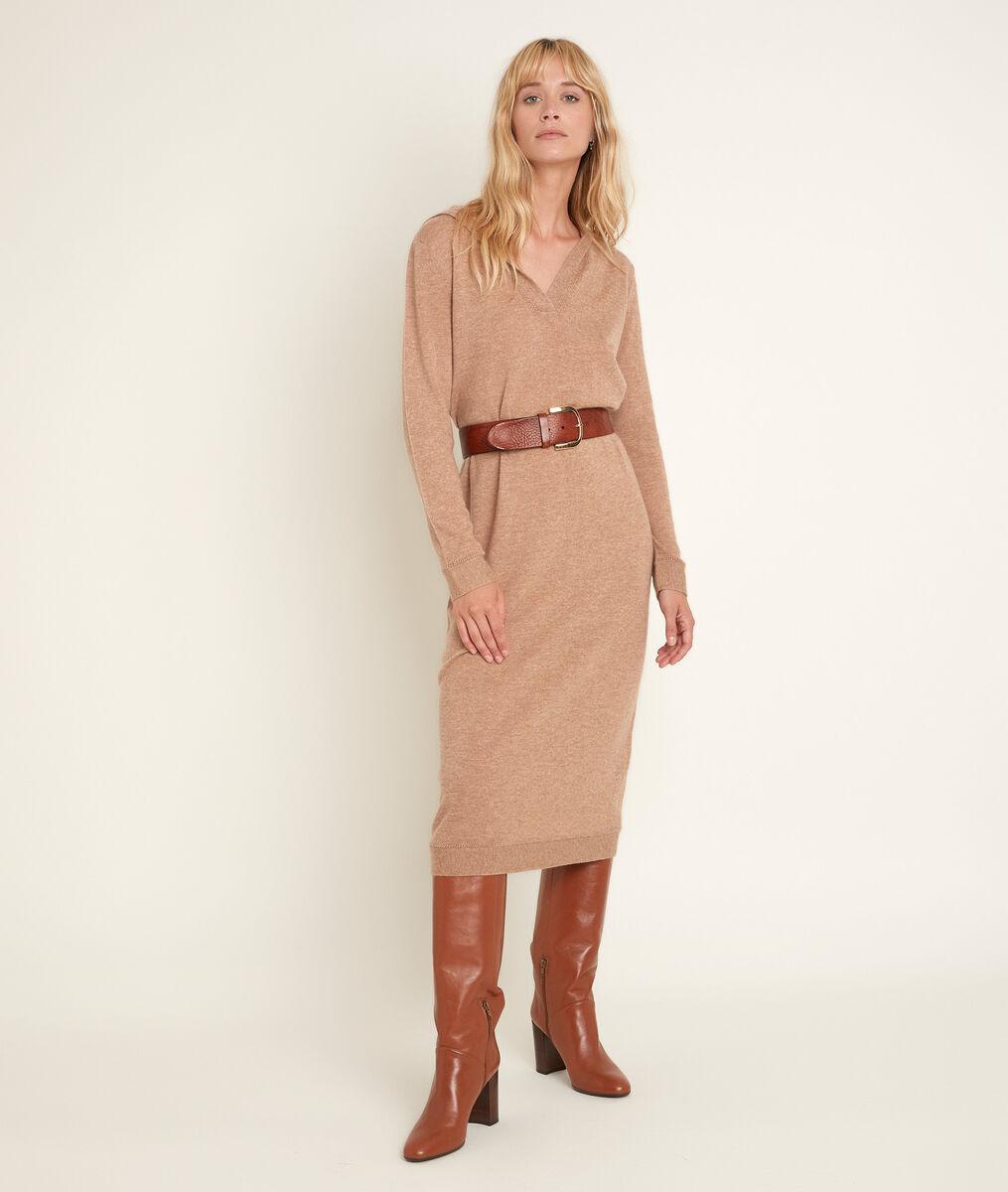 Robe en laine et cachemire Rozane PhotoZ | 1-2-3