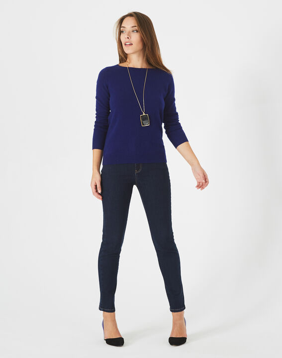 Pull encre col rond cachemire Petunia PhotoZ | 1-2-3