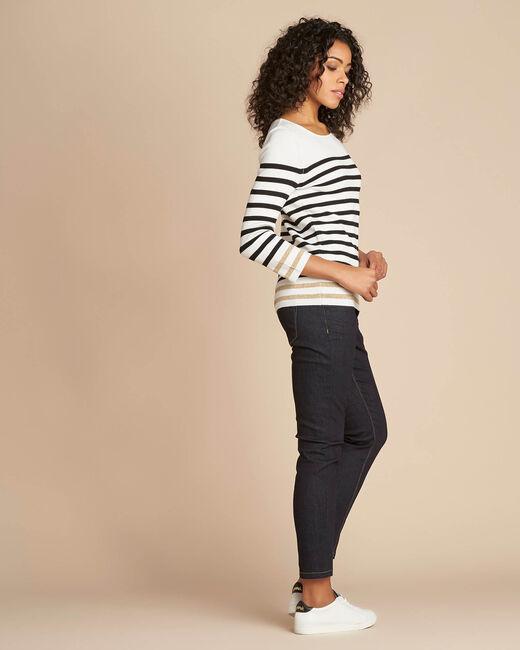 Nautique off-white boat-neck jumper (2) - 1-2-3