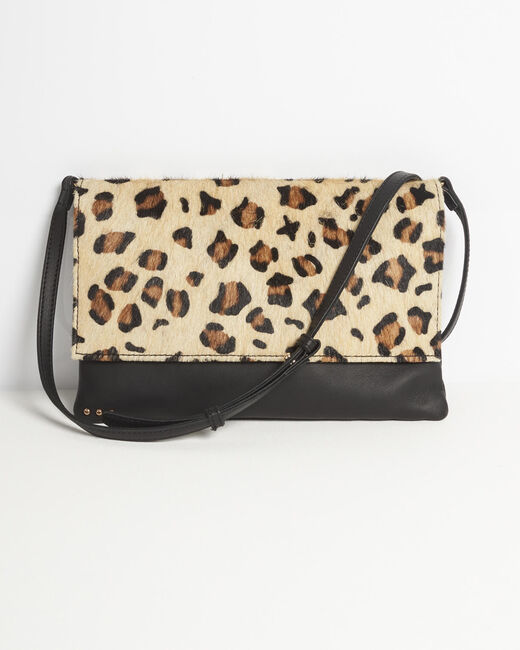Djenna leopard print shoulder bag (1) - 1-2-3