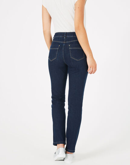 Oliver raw-cut 7/8 length jeans with studs (4) - 1-2-3