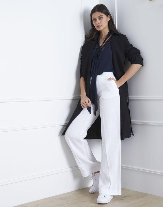 Pantalon banc large en lin Gobi PhotoZ | 1-2-3