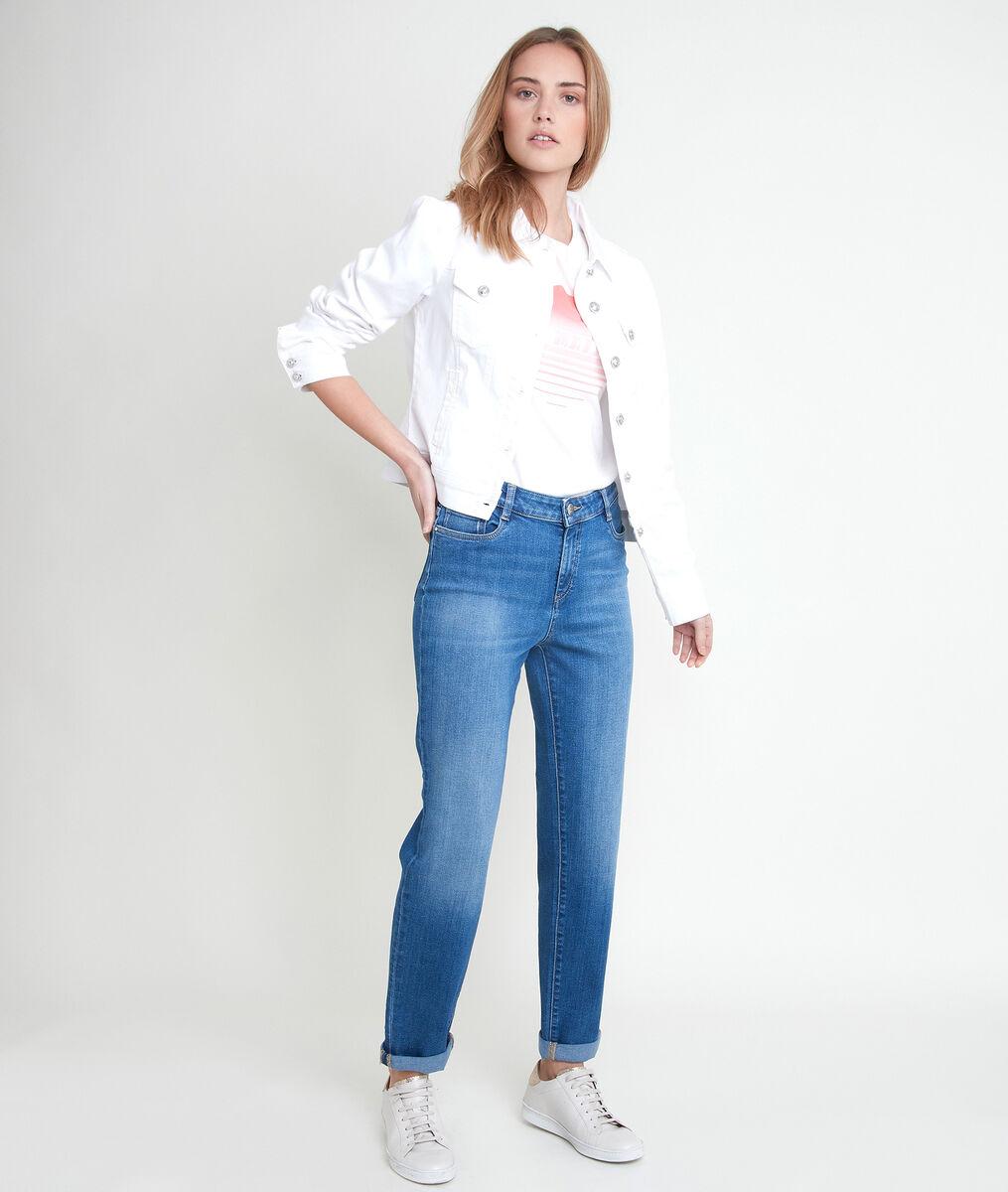 Veste en coton blanche Prisca PhotoZ | 1-2-3
