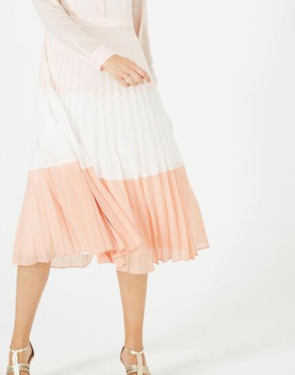 Robe longue plissée Armelle (5) - 1-2-3