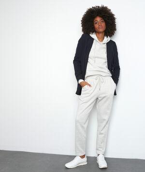 Pantalon molletoné gris chiné Everest