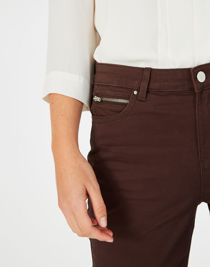 Jean slim chocolat William (3) - 1-2-3