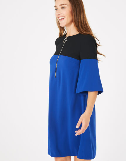 Alexia two-tone dress (3) - 1-2-3
