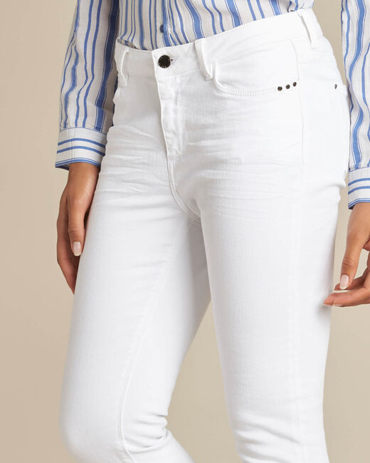 Vendôme white 7/8 length jeans (1) - 1-2-3