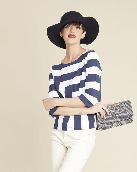 Galinette white striped T-shirt (2) - 1-2-3
