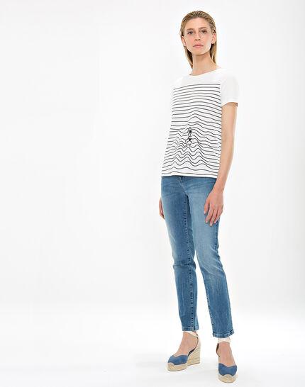 Tee-shirt rayé Nageuse (2) - 1-2-3