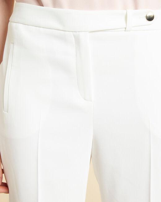 Lara white tapered trousers (1) - 1-2-3