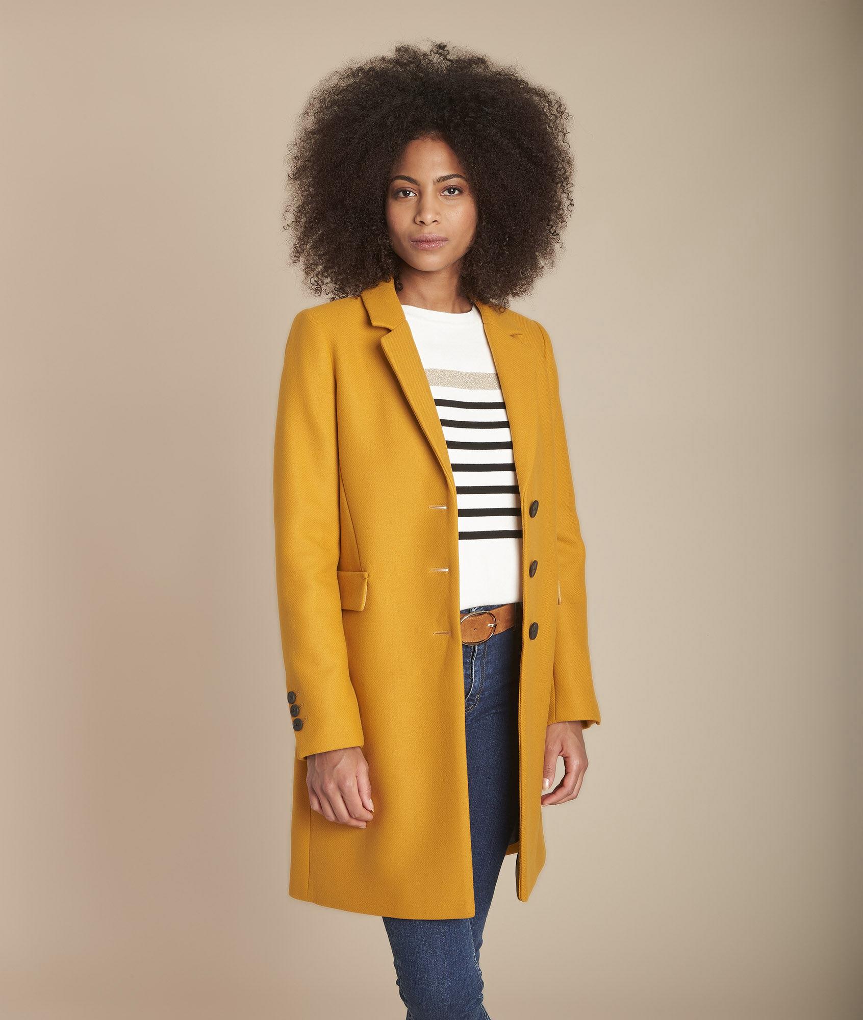 Manteau cape femme maje