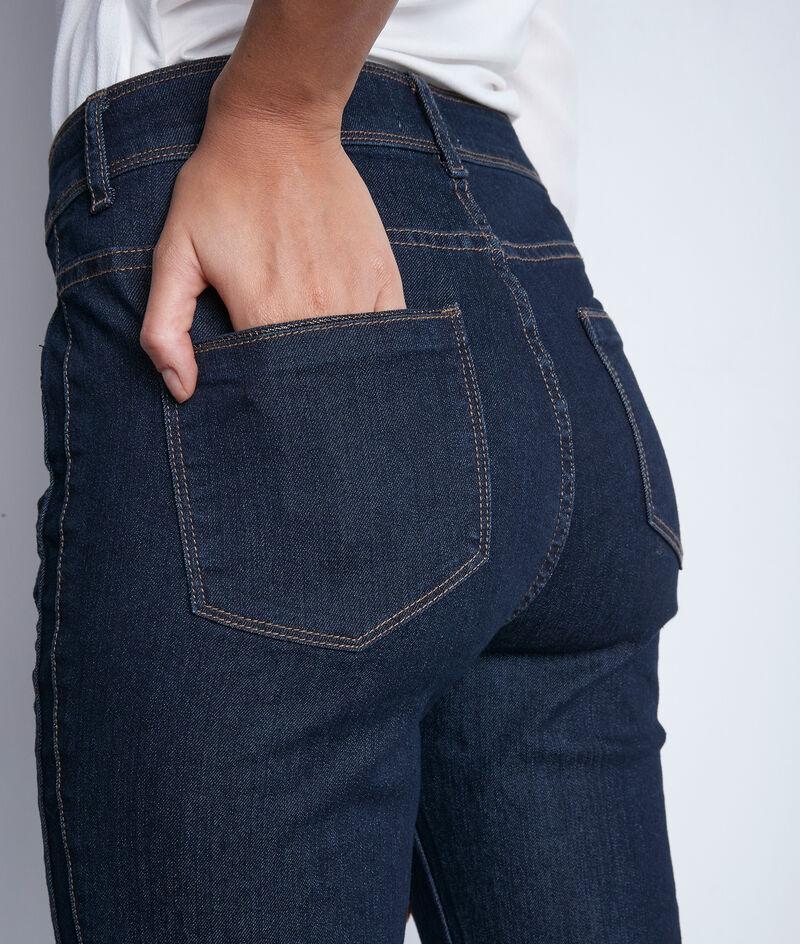 Denimblauwe slim-fit jeans van katoen Paola PhotoZ   1-2-3