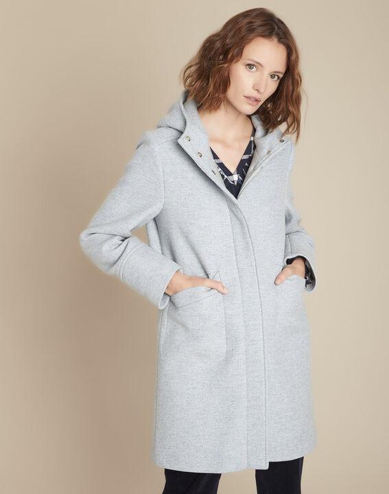 Manteau à capuche bleu azur Terrence PhotoZ | 1-2-3