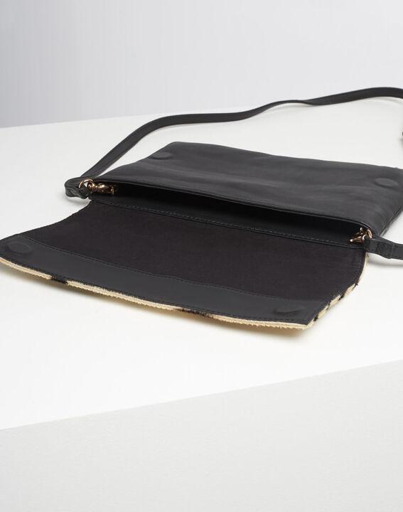 Djenna zebra print shoulder bag (4) - 1-2-3