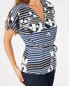 Dereck printed blouse (2) - 1-2-3