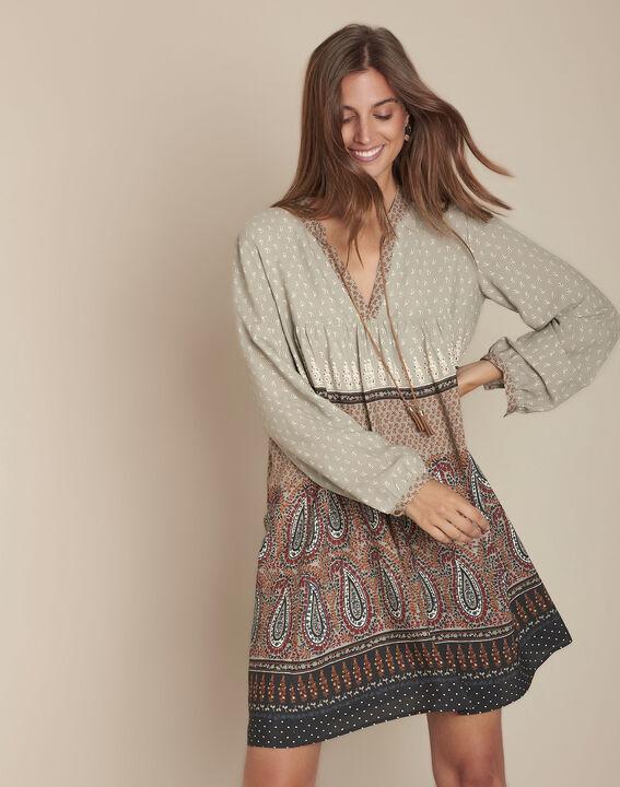 Robe imprimé cachemire Ivanity PhotoZ | 1-2-3