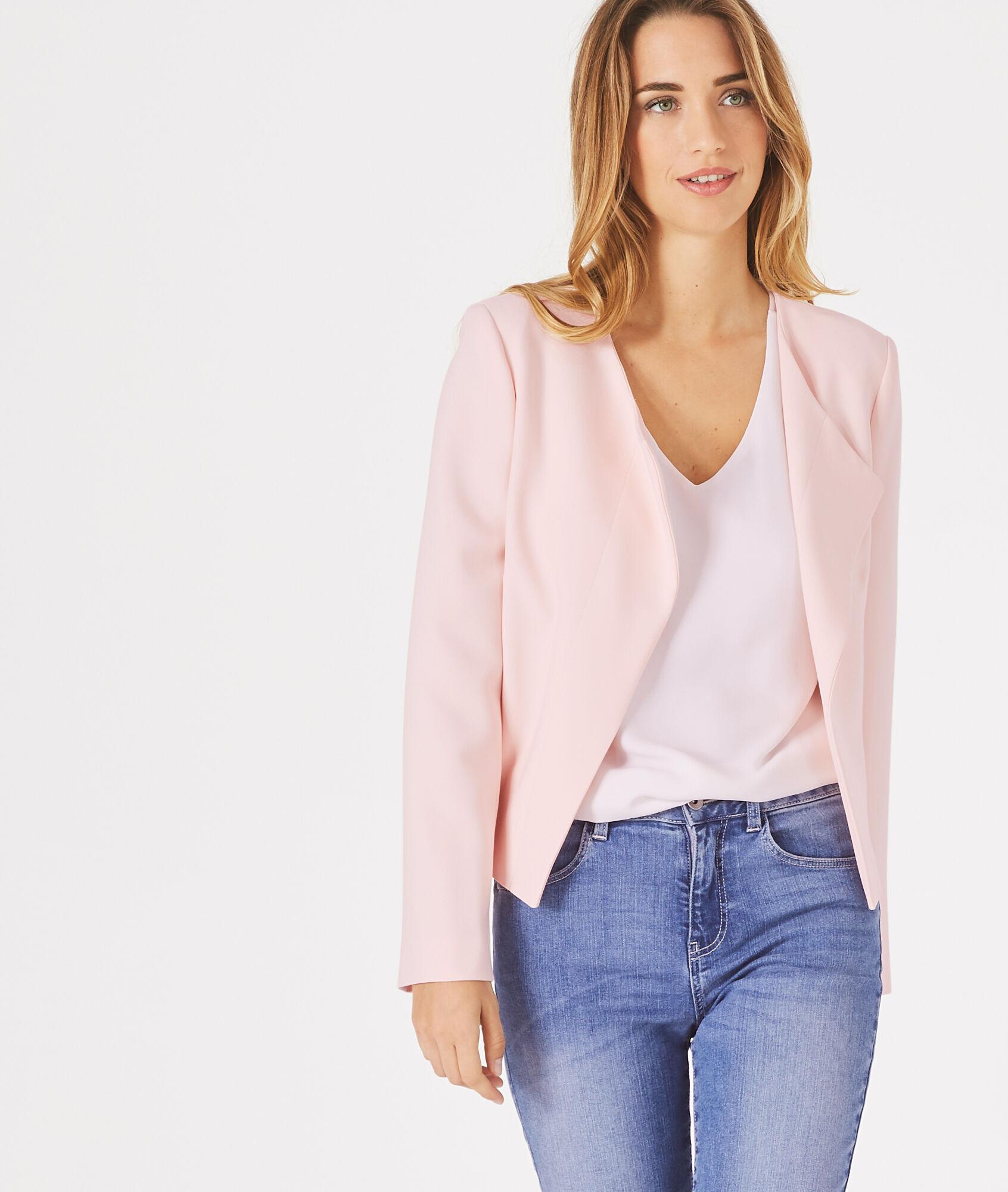 pale pink jacket jackets review. Black Bedroom Furniture Sets. Home Design Ideas
