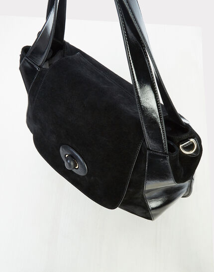 Raphael black leather bag (3) - 1-2-3